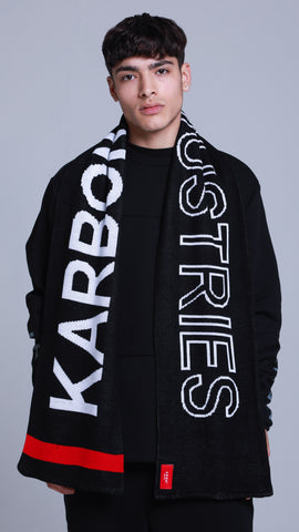 KRBN Industries Mono Scarf Black