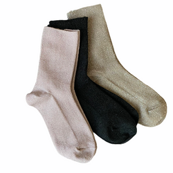 L'Goodie • Luxury Socks · Beige