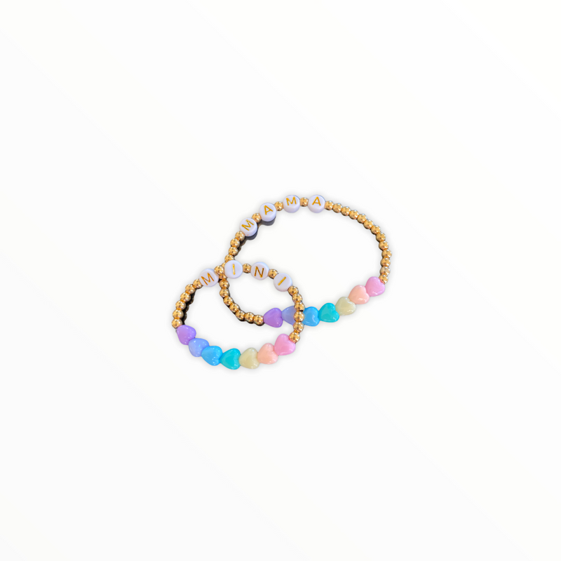 L'Goodie Beads Armbånd • MINI ME • Rainbow