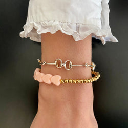 Lucky Love Bracelet • Pink Hearts