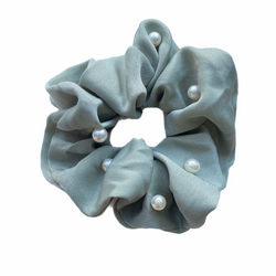 L'Goodie Perle Scrunchie • Dusty Green