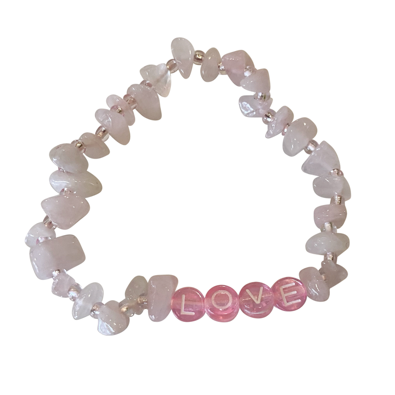 Lucky Love Bracelet • Love Rose Quartz