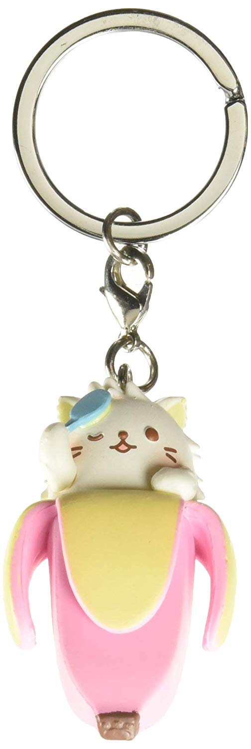 Bananya Keychain: Long-Haired Bananya