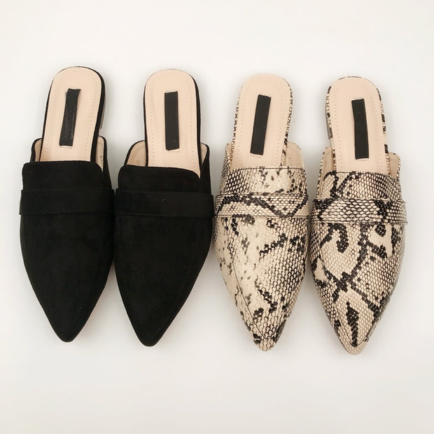 Summer Pointed Flats