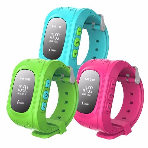 Anti Lost Child Wristwatch SOS GPS Tracker For Kids Q50