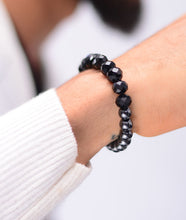 Load image into Gallery viewer, Crystal Hematite Bracelet - Black