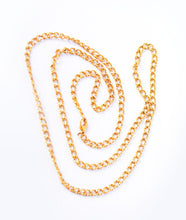 Load image into Gallery viewer, Gold Steel Chain Necklace