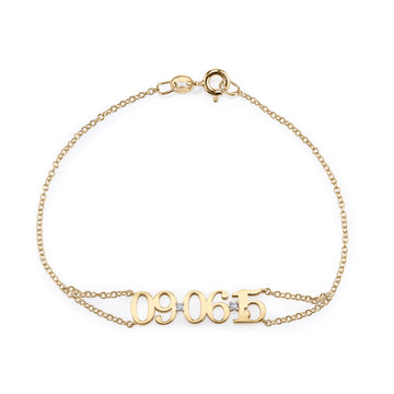 Custom Date Bracelet | Naomi Gray Jewelry