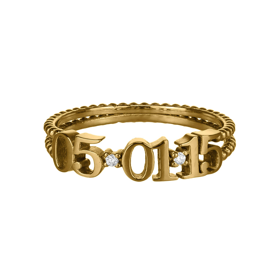 Custom Date Ring | Naomi Gray Jewelry