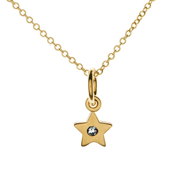 Tiny Lucky Star Necklace | Naomi Gray Jewelry