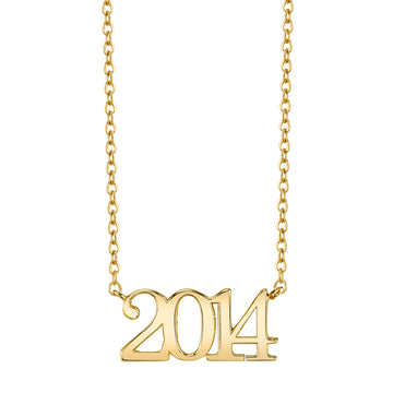 Custom Year Necklace | Naomi Gray Jewelry