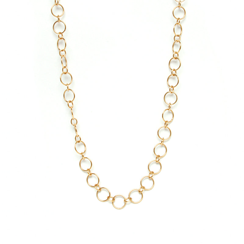 Chain Link Long Necklace | Naomi Gray Jewelry