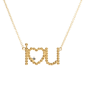 I Heart U Necklace | Naomi Gray Jewelry