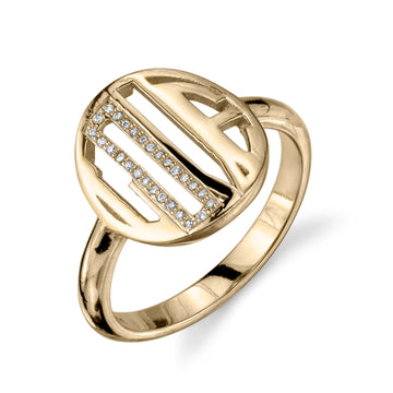 Signet LOVE Ring