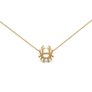 Cancer Zodiac Necklace | Naomi Gray Jewelry