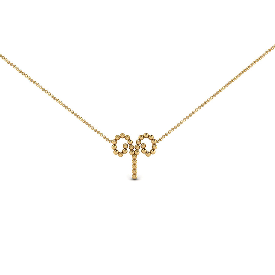 Aries Zodiac Necklace | Naomi Gray Jewelry