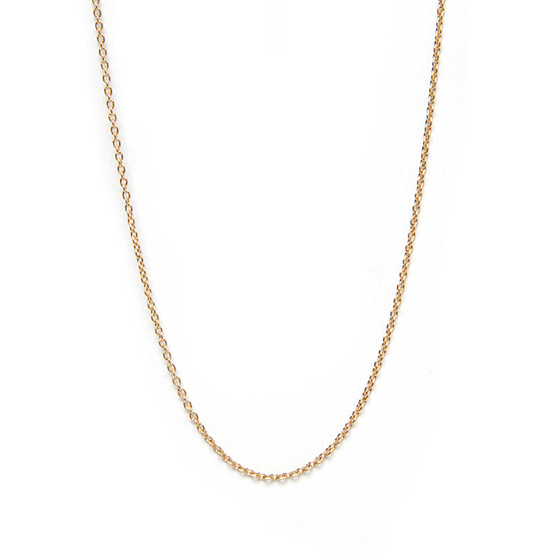 Dainty Rope Chain Necklace | Naomi Gray Jewelry
