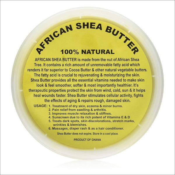 African 100 % Natural Shea Butter 16 oz