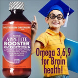 Appetite Booster Weight Gain Stimulant Supplement Eat More for Underweight Kids & Adults