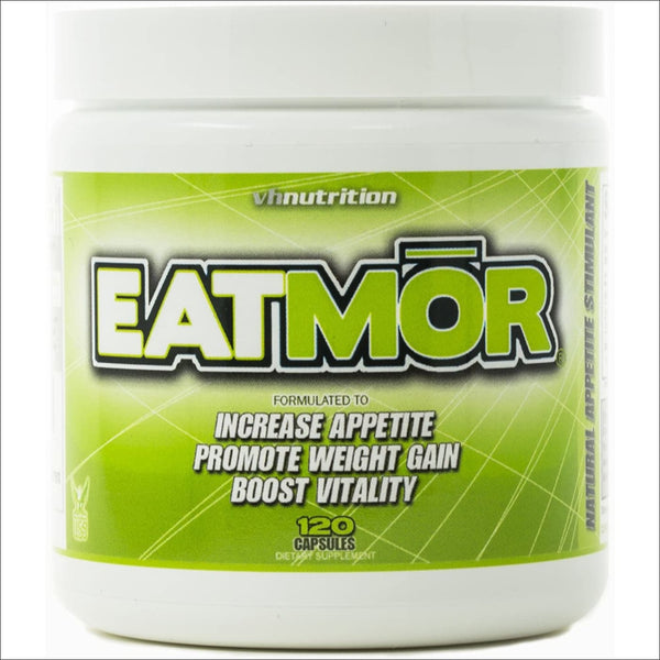 Eatmor Appetite Stimulant | Weight Gain Pills for Men and Women | Natural Hunger Boosting Orxegenic Supplement 120 Capsules | 30 Day Supply