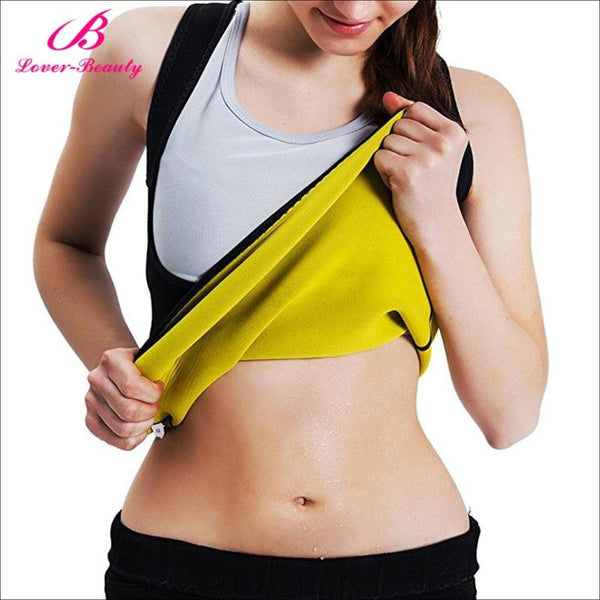 Lover Beauty Body Shaper Tummy Fat Burner Sweat Tank Top Weight Loss Workout Shapewear Neoprene Sauna Waist corset - Health and Cosmetics