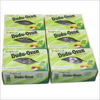 Tropical Naturals Dudu Osun African Black Soap(100% pure) 150g - Pack of 6 ( $ 1.66/Unit ) Health and Cosmetics