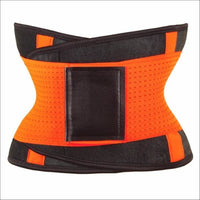 women slimming body shaper waist Belt girdles Control Waist trainer corset Shapwear modeling strap - Orange / XXL / China