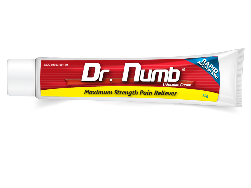 3 x Dr. Numb® Hemorrhoid Anorectal Cream
