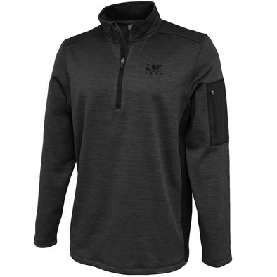 Fraternity Heather 1/4 Zip Performance Sweatshirt
