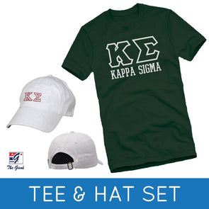 Fraternity Tee & Hat Gift Set