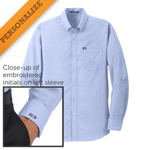 Sale! Personalized Fraternity Light Blue Button Down Shirt