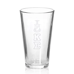 Fraternity Engraved Fellowship Glass