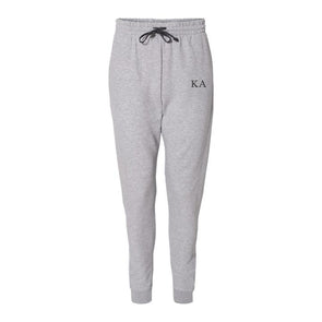New! Fraternity Heather Grey Contrast Joggers