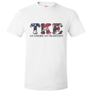 Clearance! Fraternity Patriotic Tee