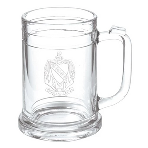 Fraternity Keepsake Glass Mug