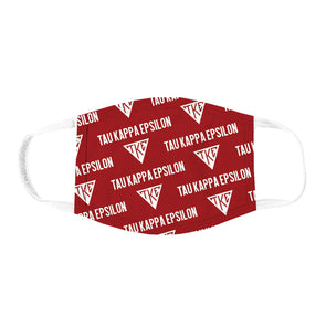 New! Fraternity Patterned Face Mask