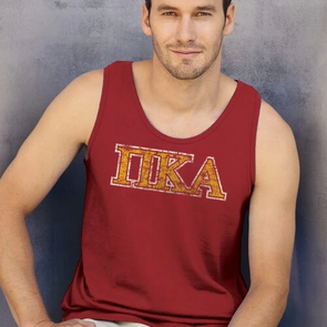 Fraternity Colored Athletic Tank Top