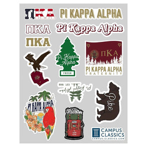Fraternity Graphic Sticker Sheet