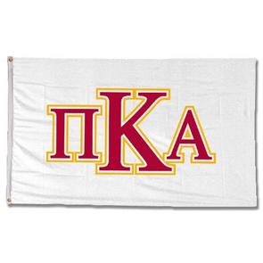 Fraternity Greek Letter Banner
