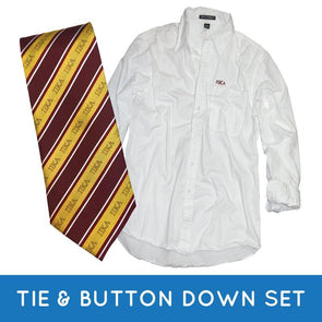 Fraternity Tie & Button Down Gift Set