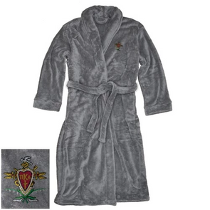 Fraternity Charcoal Ultra Soft Robe