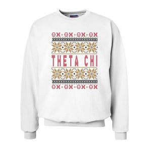 New! Fraternity Ugly Christmas Sweater