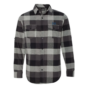 Fraternity Black Plaid Flannel Shirt