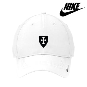 New! Fraternity White Nike Dri-FIT Performance Hat