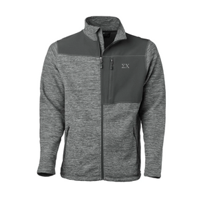 Fraternity Gray Thermo Fleece Jacket