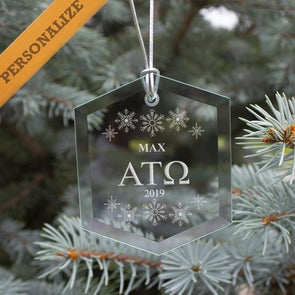New! Fraternity 2019 Personalized Limited Edition Holiday Ornament