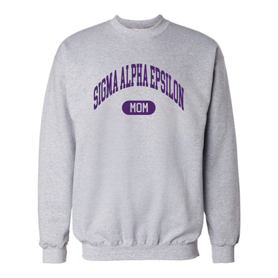 New! Fraternity Classic Mom Crewneck
