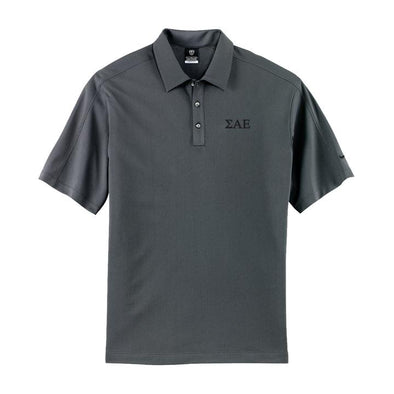 Clearance! Fraternity Charcoal Nike Performance Polo
