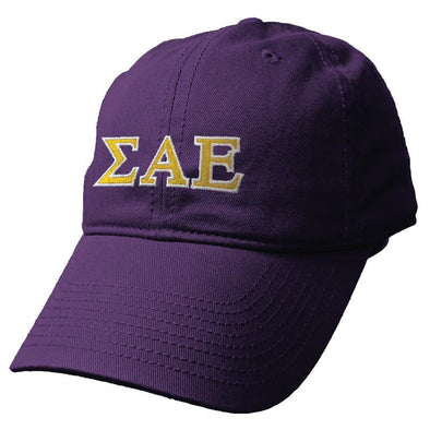 Fraternity Colored Greek Letter Hat By The Game