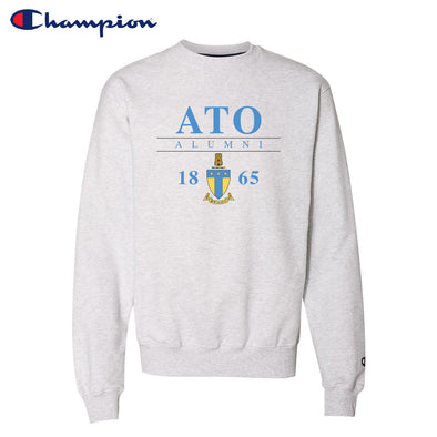 New! Fraternity Alumni Champion Crewneck